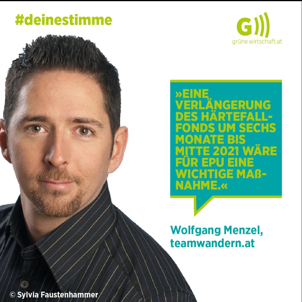 Deine Stimme Wolfgang Menzel